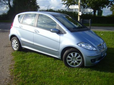 Mercedes A Class Auto, O/S front